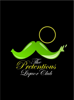 Pretentious Liquor Club logo